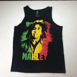 VTG Bob Marley Zion Rasta Color Way Tank Top
